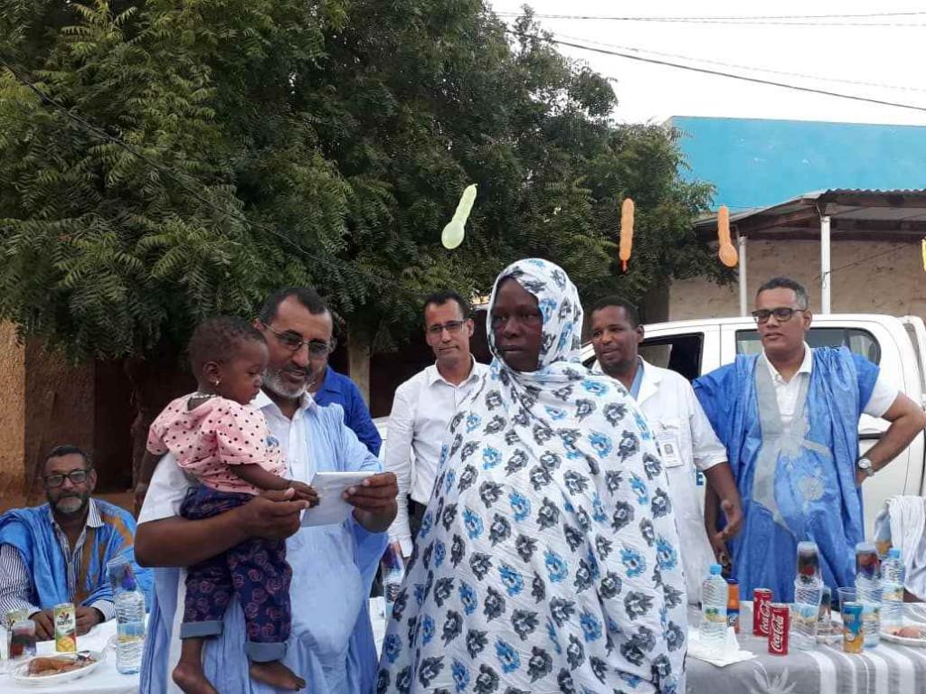 Célébration de l'achèvement de la vaccination de SAVIYA