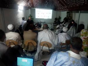 Séance de travail d'explication sur le FBR aux principaux responsables du Ministère de la Santé de la Mauritanie