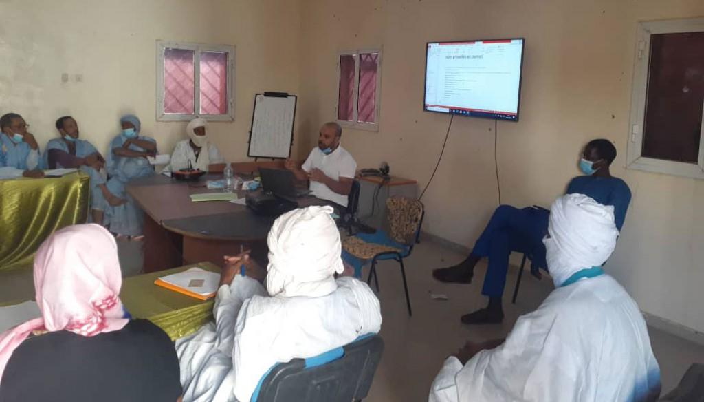 Atelier de formations pour les COSA à Hodh Echarghi