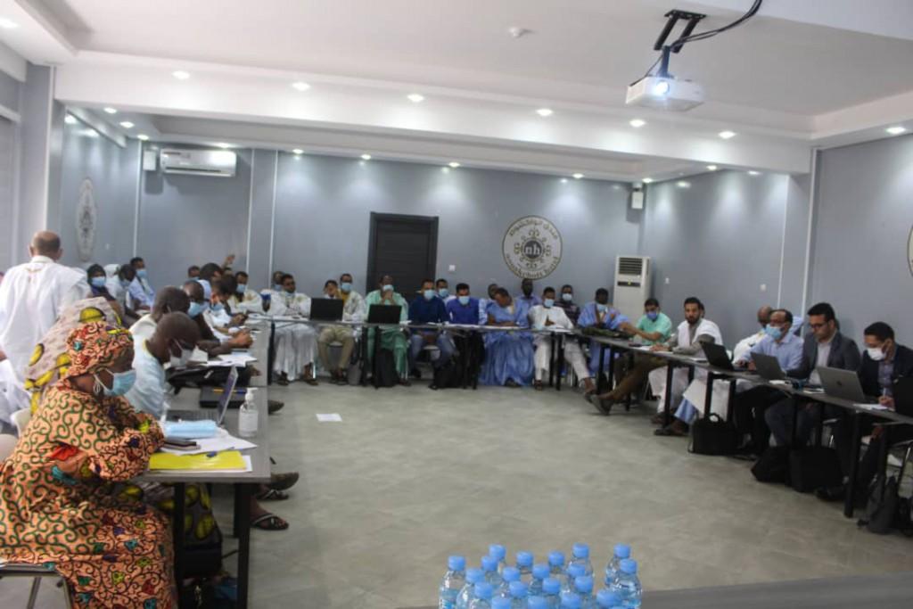 Atelier au profit des médecins chefs des Moughataa et les équipes régionales de vérification